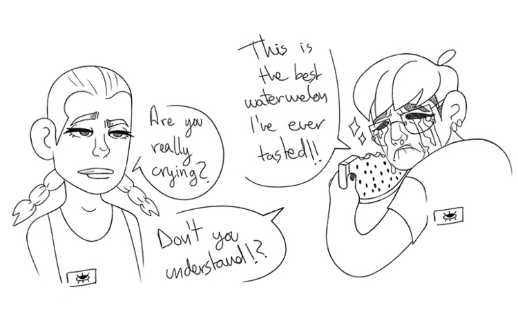 Based true story~ - watermelon, sister - aviadora   ello