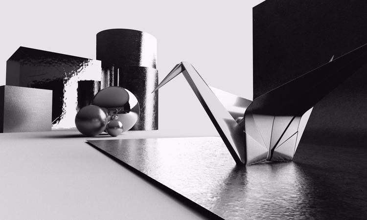 origami   rendered Project Feli - momosby   ello