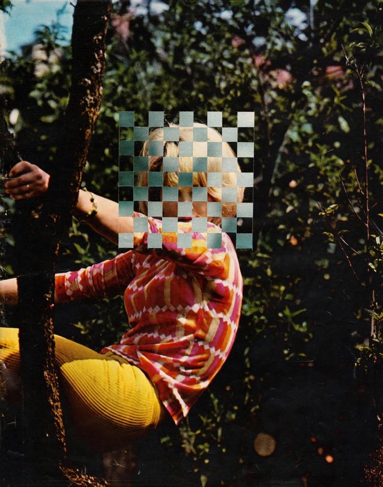 Aveugle - 25,5x33 cm Paper weav - claire_martine_ | ello