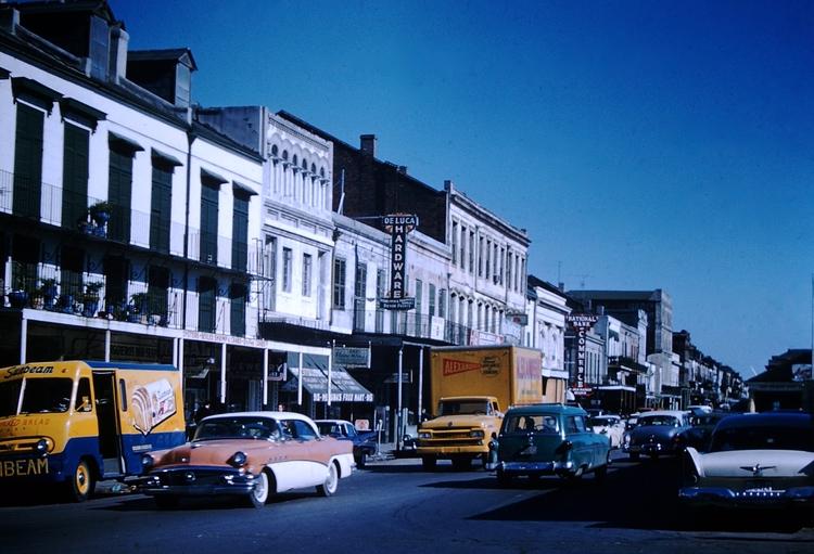 Photo - Orleans 1959 - foundphoto - marksusina | ello