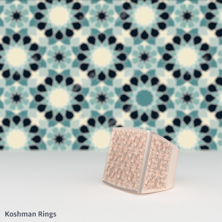 ring love - Arabic pattern find - koshman | ello