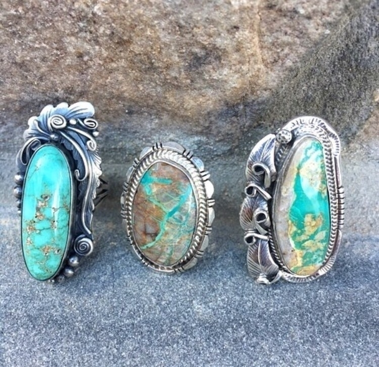 rings favorite? possibly choose - turquoisecanyon | ello