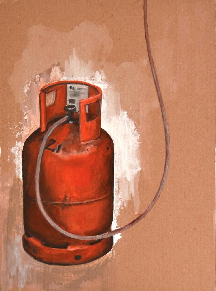 Gas Oil cardboard 2015 - daviddiehl | ello