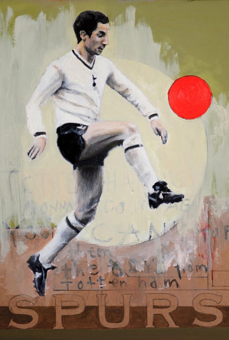 Love Tottenham Oilon cardboard  - daviddiehl | ello