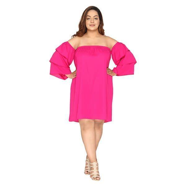 Size Women Layered Sleeve Shoul - calae_plus_size_store | ello