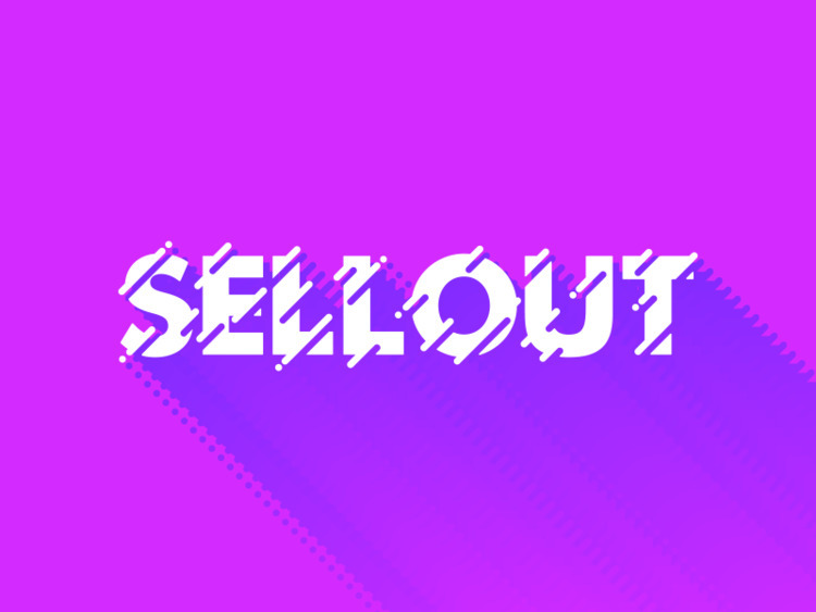SELLOUT fun - type, experiment, typography - jackgdesign | ello