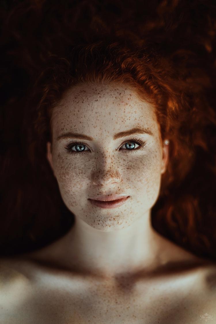 ana lora maren 08.17 - freckles - analora | ello