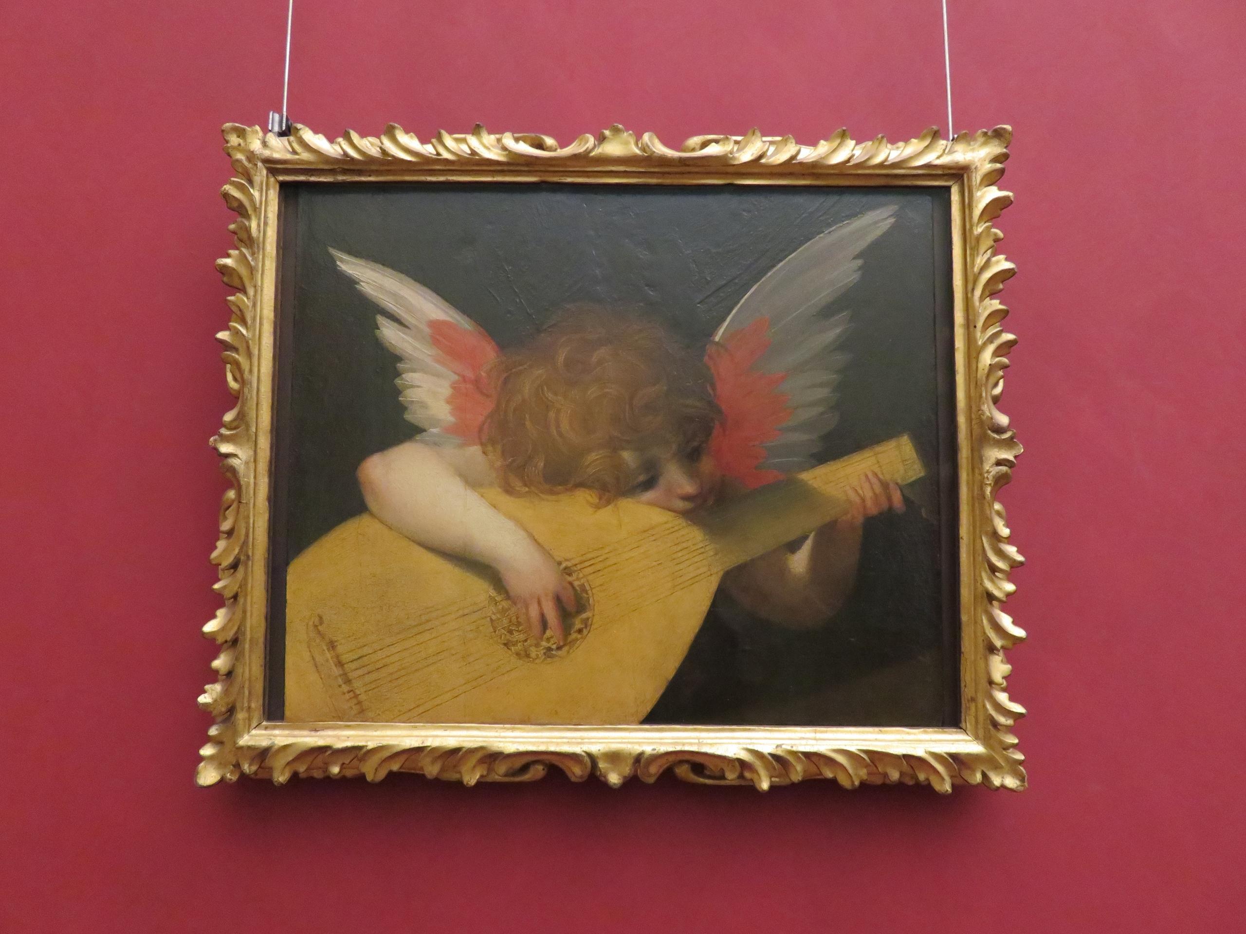 raphael, uffizi, art, painting - sanftekuss | ello