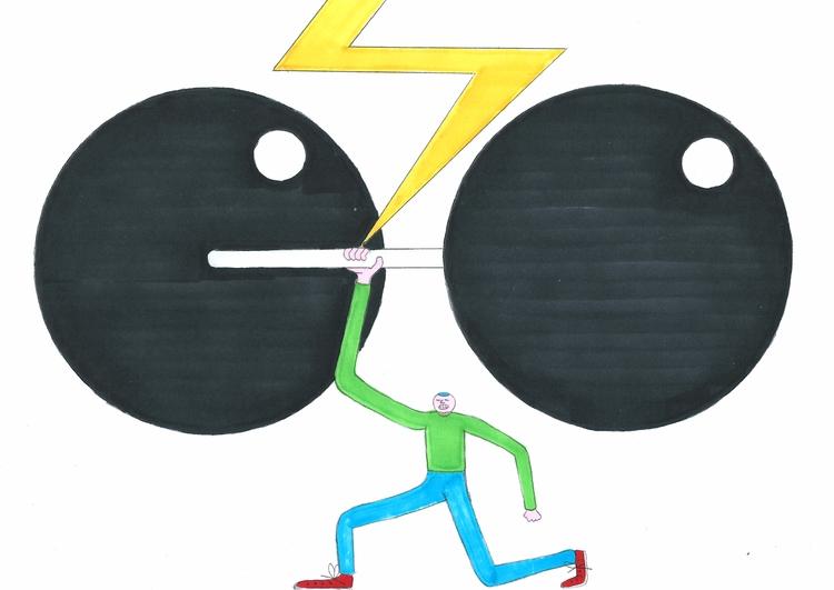 Strenght - graphicdesign, illustration - molonom | ello