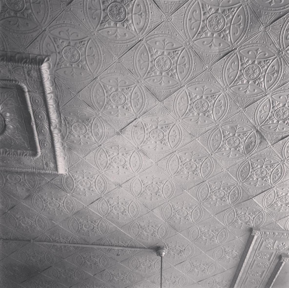 Ceiling built 1910 - architecture - stug | ello