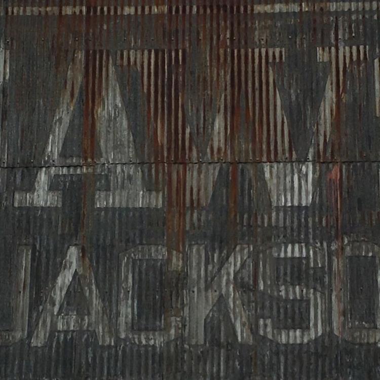 Jackson - nofilter, rust, sign, handpainted - stug | ello