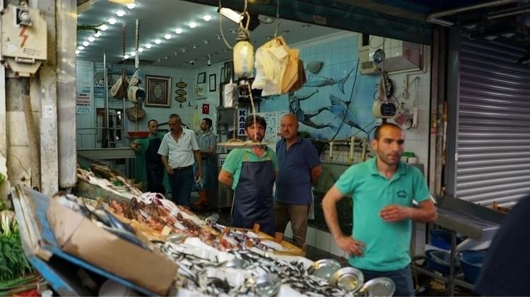 Fish market Asian part Istanbul - mcpb | ello