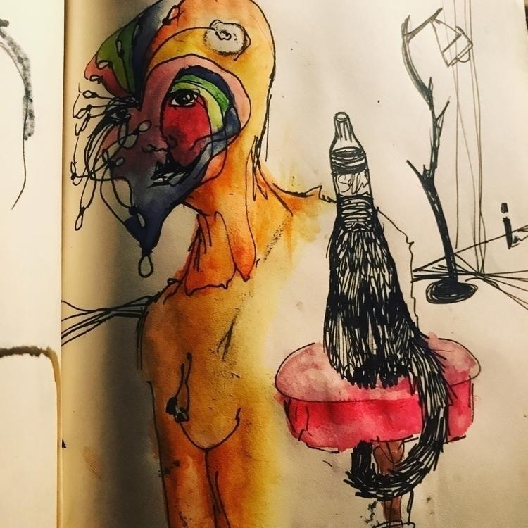 Cheers  - illustration, water_colors - sarjon_art   ello