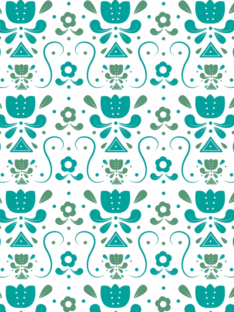 flower Swedish folk art inspire - svaeth | ello
