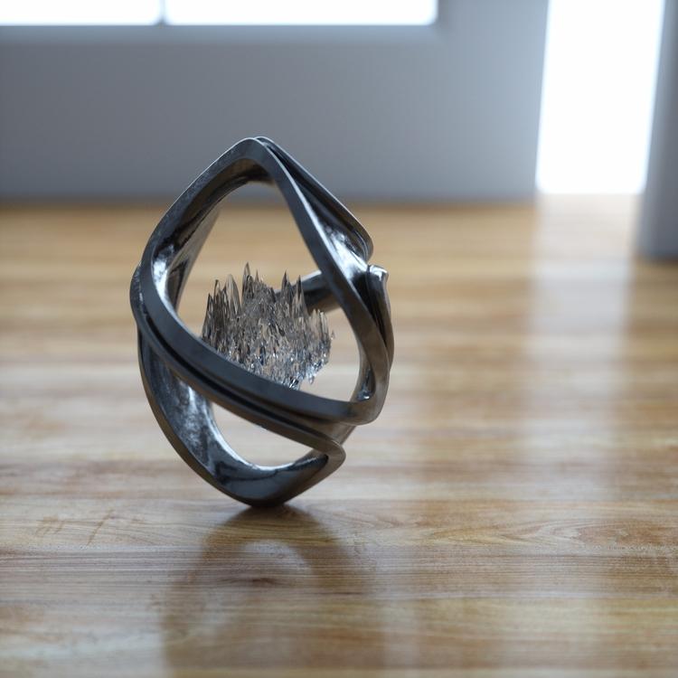 Fantasy pendant - 3D, art, surreal - elmisterca | ello