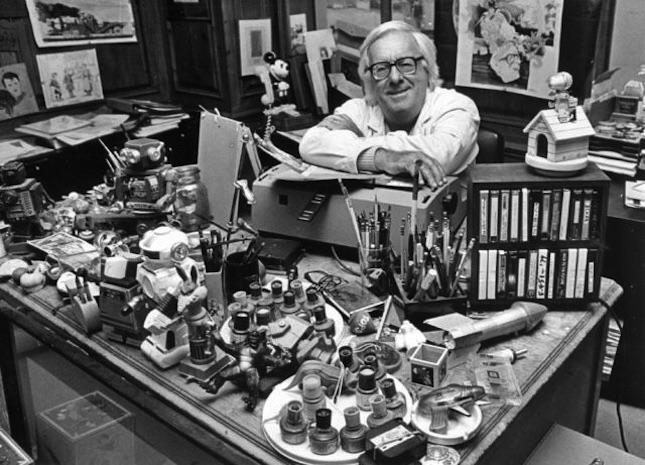 Ray Bradbury (check desk - milanostphn | ello