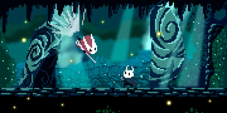 [Tiny Hollow Knight - Pixelart - apoonto | ello
