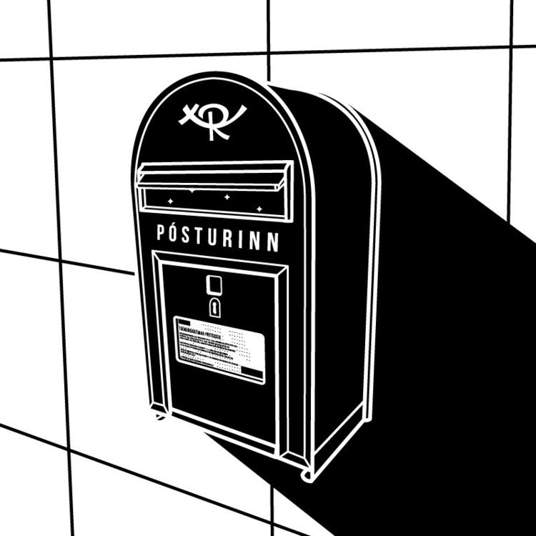mailbox, iceland, pósturinn - rqsct | ello