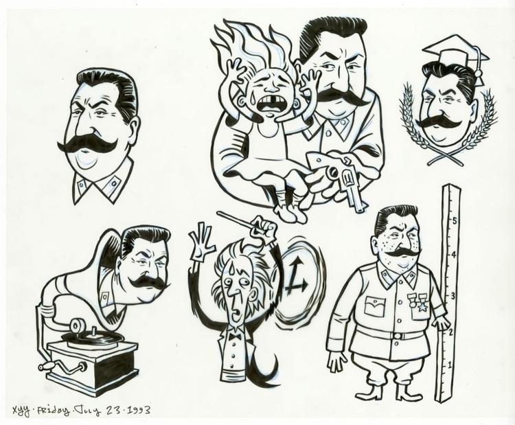FLAT FILES, 1993: Stalins XYY,  - dannyhellman | ello
