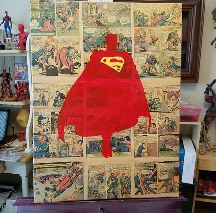 Repost Superman minimalist sten - bitfactory | ello