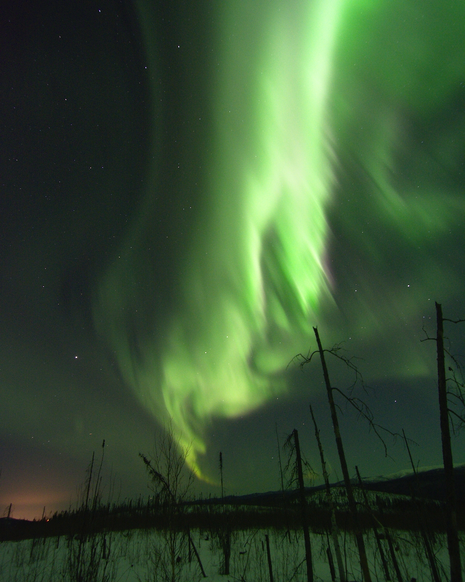 March Skies - Aurora borealis C - lwpetersen | ello