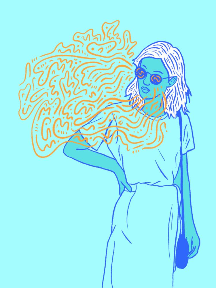 Funky Shades - illustration, illustrator - heybop | ello