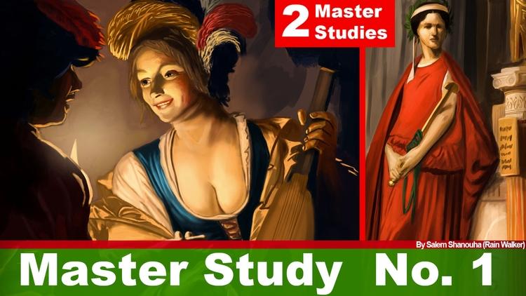 Master Painting Study studied m - rain_walker | ello