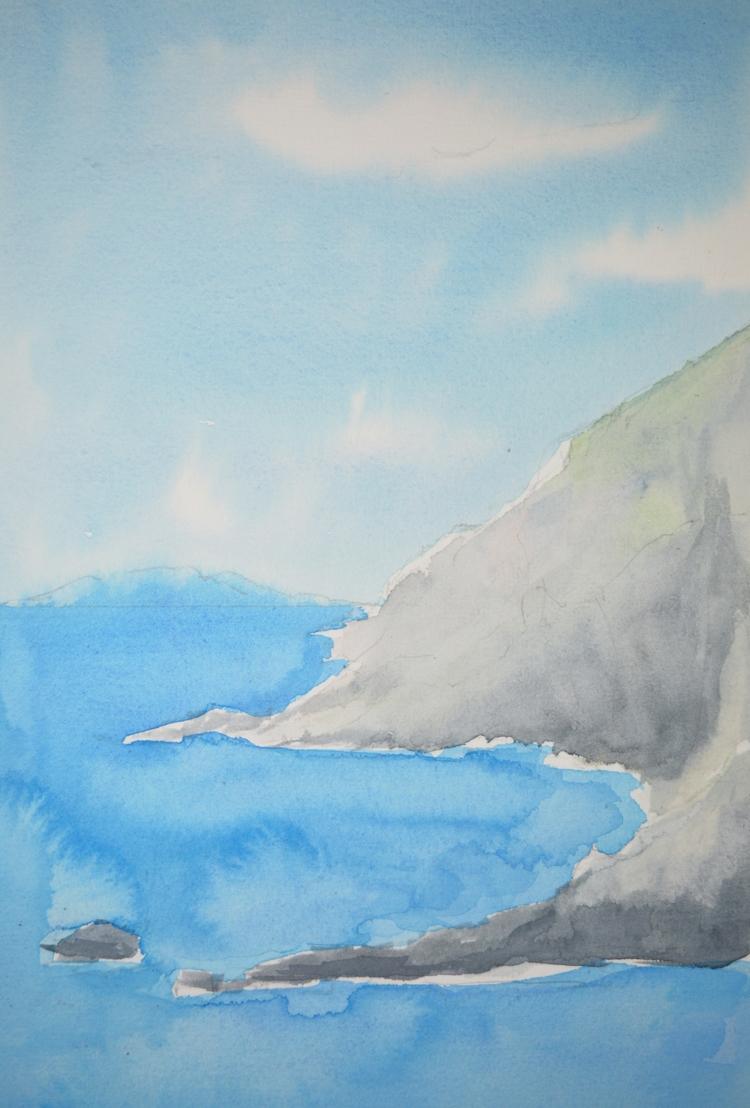 Watercolour Skeching - euric   ello