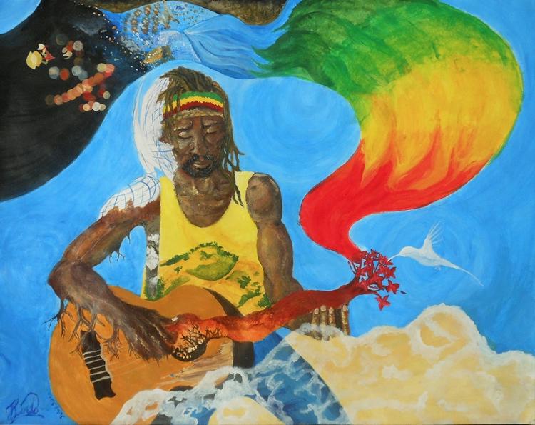 Jamaica Progress (2012) Acrylic - jeanalindo   ello