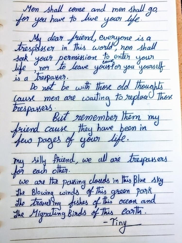 Flow. Flow Ends - poem, modern_poetry - anudeep_balla | ello