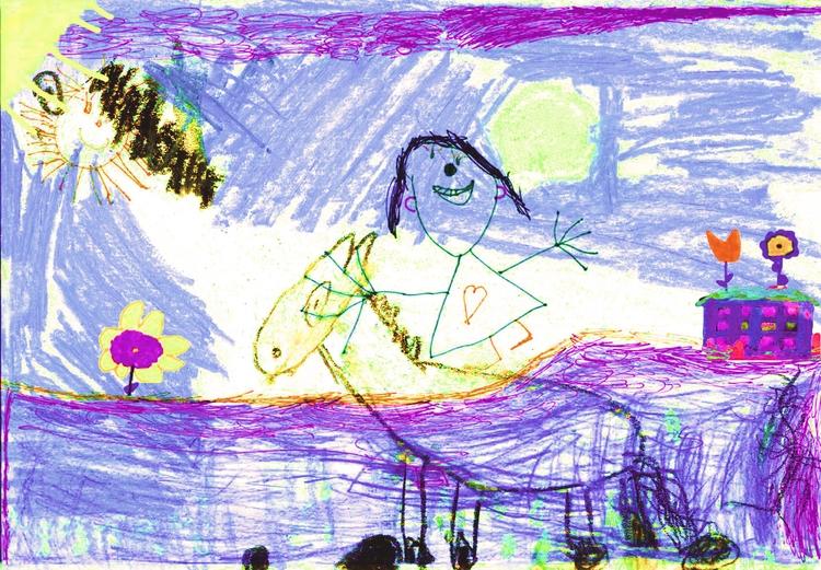 children drawings - mimiva | ello