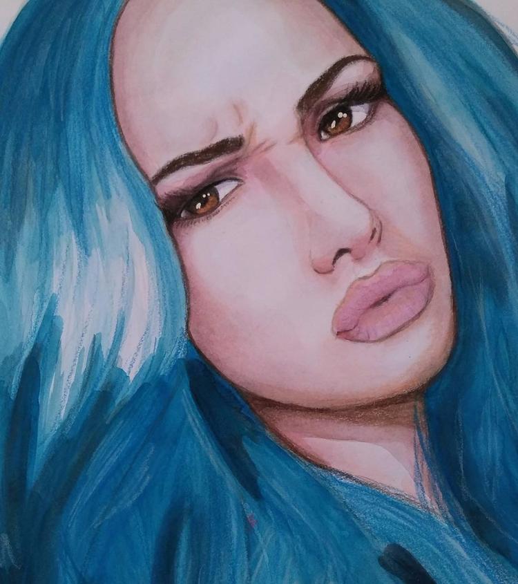 Uploading doodles - art, watercolor - robox | ello