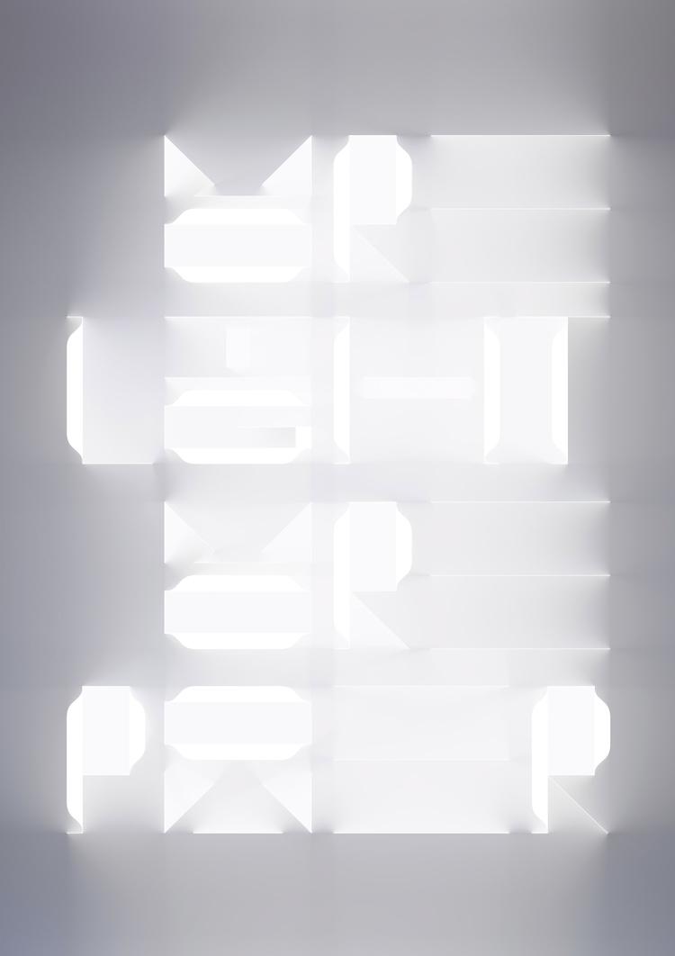 Typographic art print commissio - sawdust   ello