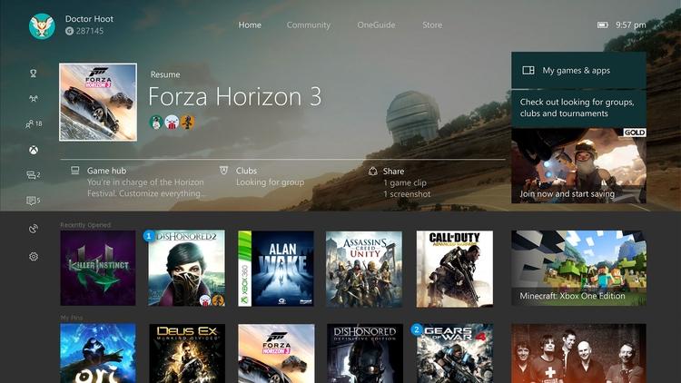 Gamers Xbox dash - xbox, xboxone - bradstephenson | ello