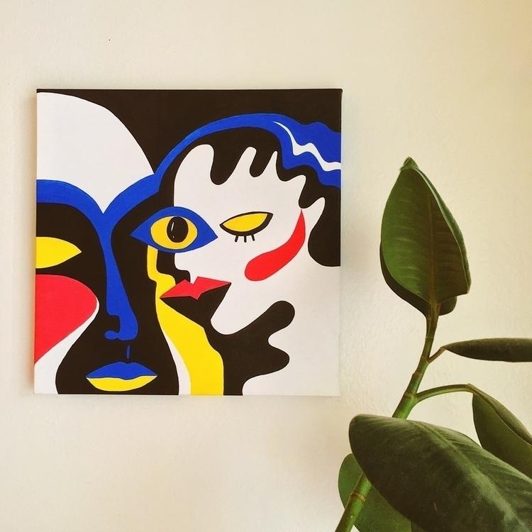 Eye eye Acrylic canvas - learnfern | ello