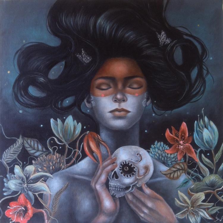 Seeds oil canvas - ingridtusell | ello