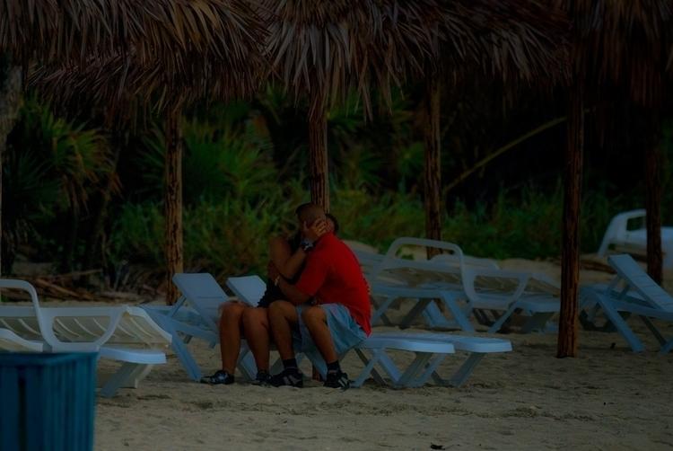 sunset love affair - beach, Cuba - christofkessemeier   ello