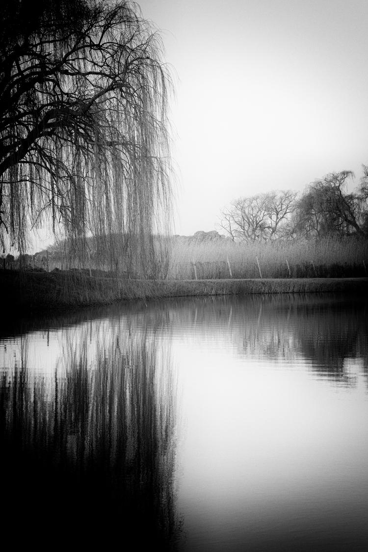 dam - sunset, reflections, blackandwhitephotography - genevievemaynard | ello