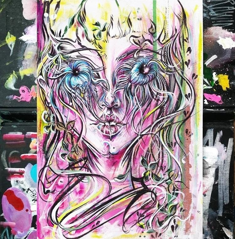 Torn sketchbook page- Sketches  - femsorcell   ello