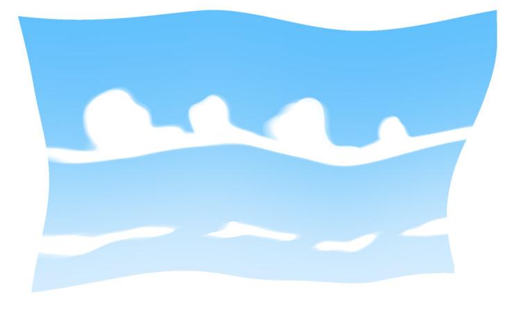 Flag Summer - art, digitalart, clouds - dreaming_mao | ello