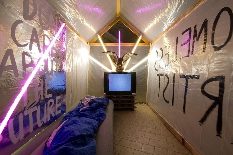 Homeless Artist 1, 2015, dimens - tizianbaldinger | ello