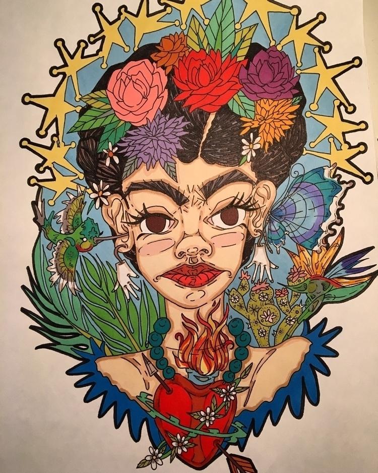 newest Frida kahlo piece awhile - laurenkeresey   ello
