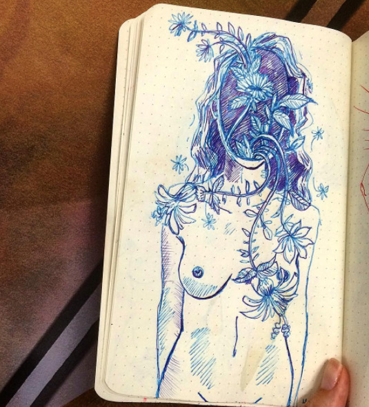 lovers - sketchbook - blflood   ello
