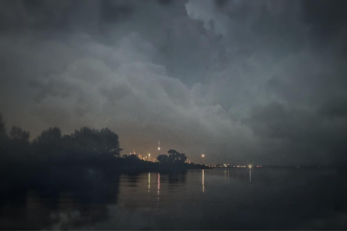city wrapped light, glowing emb - jamesanok   ello