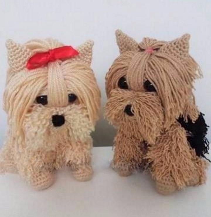 Enchanted puppies crochet, cong - brunacrochet   ello