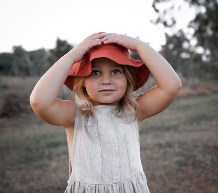 long beautiful Sun Hats thinkin - raw_threadsforkids | ello