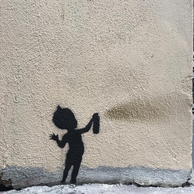 Kirikou - street, streetart, streetartist - philippefabry | ello