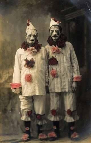 clowns, vintage, victorian - victorianchap | ello