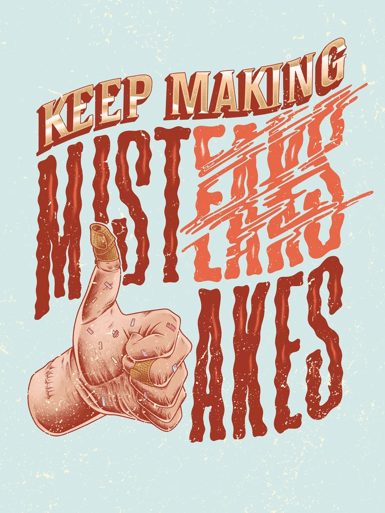 making mistakes! (Colored versi - jferreirastudio | ello