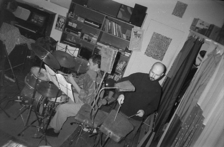 Impromptu jam, NYC '95. Karen M - w_a_davison   ello
